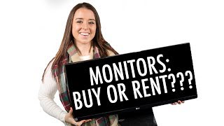 Monitors in Your Booth: Buy or Rent?