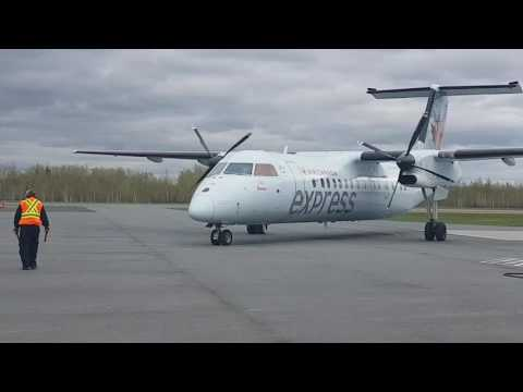 Air Canada Express - Dash 8-300 - Operated by Jazz - Bathurst, New-Brunswick departure