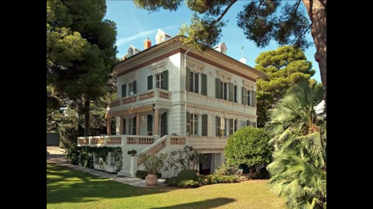 St Jean Cap Ferrat Villa Belle Epoque - YouTube