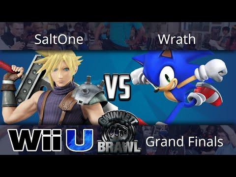Gwinnett Brawl October 2017 - SaltOne (Cloud) vs Wrath (Sonic) - Smash 4 Grand Finals