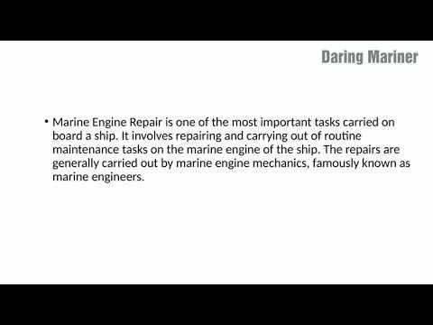 Marine Engine Repair Done onboard  Ship # marine # ship # Engineer