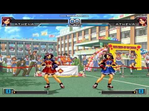 The King Of Fighters 2002 Unlimited Match Asamiya Athena Vs Asamita Athena Fight Ryona Dance 3