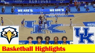 Morehead State vs Kentucky Basketball Game Highlights 11 25 2020