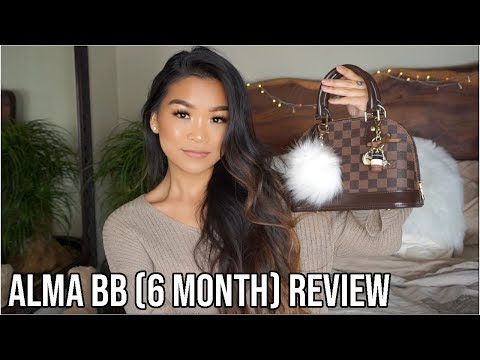 LOUIS VUITTON ALMA BB REVIEW (6 MONTHS) & WHY I'M SELLING IT