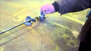 циркуль для плазмореза(Простейшее устройство для плазмореза, сделать может каждый, облегчает работу, повышает качество и производ..., 2013-03-15T14:06:35.000Z)