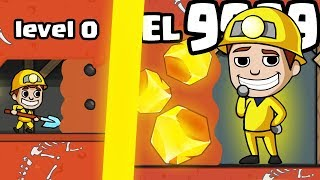 IS THIS THE MOST VALUABLE MINE DRILL EVOLUTION? (9999+ GOLD LEVEL UPGRADE) l Mine Tycoon New Game