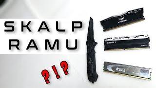Skalpowanie pamięci RAM - po co i dlaczego oraz czym i jak - VBT