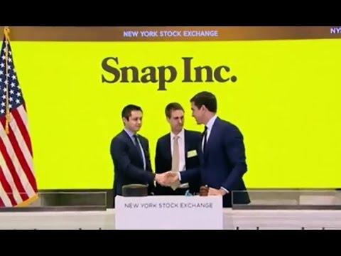 Snapchat IPO LIVE at the NYSE | ABC News