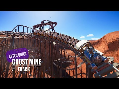 Planet Coaster: Ghost Mine - #1 Track [Speed Build] |