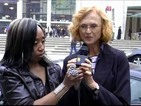 Jill Larson aka Opal AMC, interview at the NYC rally pt 10