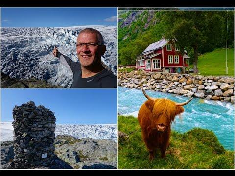 Hiking in Odda   Reinanuten