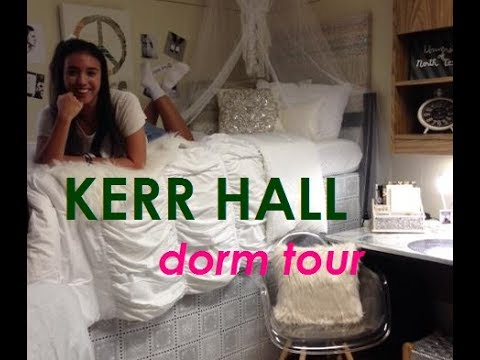KERR HALL // DORM TOUR // UNT - YouTube