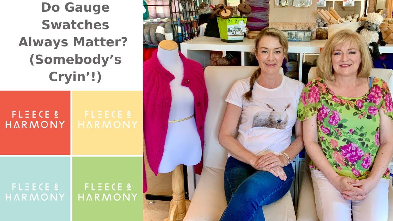 Fleece & Harmony Knitting Podcast - Ep. 48. Sweaters and Shellfish!