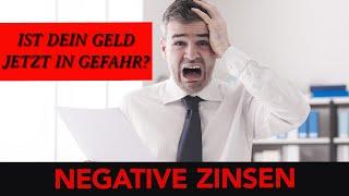 Negative Zinsen: Ist Dein Geld in Gefahr?