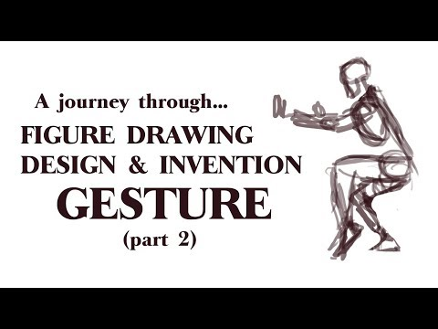 (A Journey Through) Figure Drawing Design & Invention | The 8 Body Parts & Exaggerating Gesture