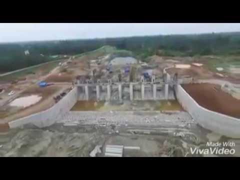 Proyek pembangunan Bendung D.I BAJAYU,  PAYA LOMBANG, LANGAU Kota Tebing Tinggi, Kab. Deli Serdang