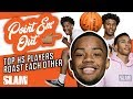 Top High School Players ROAST Each Other   SLAM Quick Hitters