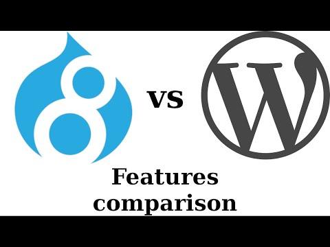 Drupal vs Wordpress: Features comparison thumbnail