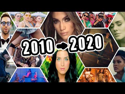 Top 100 Chansons Les Plus Écoutés de 2010 à 2020