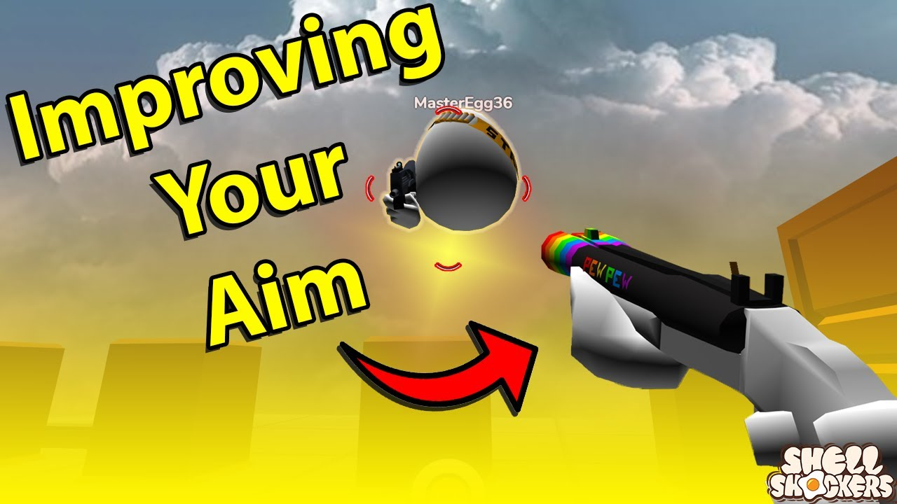 5 Tips to AIM BETTER in Shell Shockers - YouTube