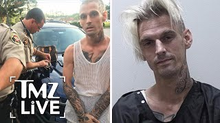 Aaron Carter ARRESTED | TMZ Live