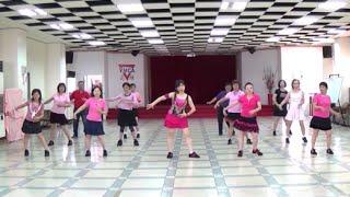 Anyone Can Dream (by Ayu Permana) - line dance (demo & walk through) = 人皆可夢 - 排舞(含導跳)