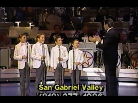 """""""Danny Boy"""" - Jerry Lewis Conducts The Osmond Boys (1986)"""