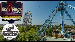 The Abandoned History of Jazzland/Six Flags New Orleans | Expedition Extinct