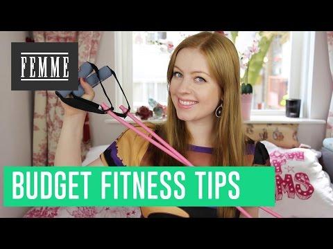 Budget fitness tips - FEMME