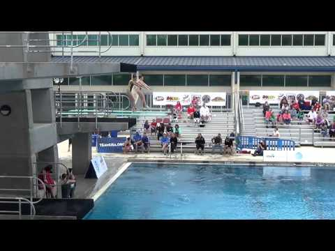 E25 Open Women's 3M Syncro Preliminary - 2016 USA Diving Synchronized National Championships