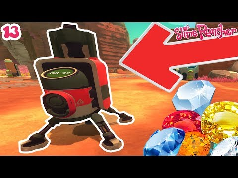 CHASSE AU TRÉSOR AVEC UNE INCROYABLE MACHINE ! | Slime Rancher ! #Ep13