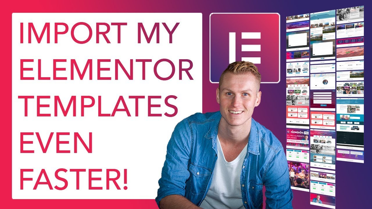 Download/Import My Elementor Templates Even Faster