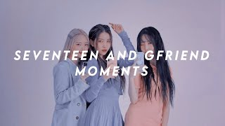Seventeen (세븐틴) and Gfriend (여자친구) Moments Part 2