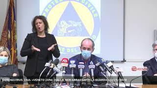 Coronavirus, zaia: «veneto zona gialla, non abbassiamo la guardia»   21/11/2020