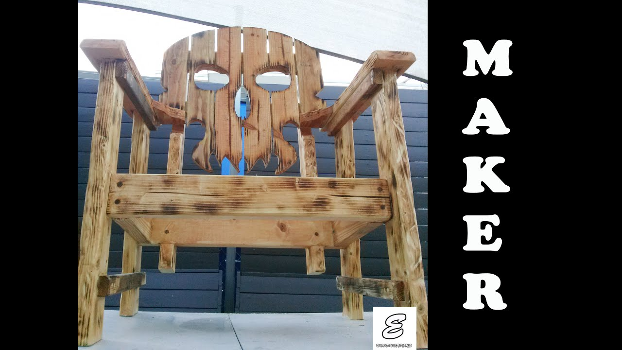 Skull Chair Wood Rocking Chairs For Sale Lets Make A Maker Video Youtube