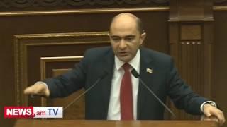 Էդմոն Մարուքյանի ելույթի ժամանակ ԱԺ ղեկավարությունը զվարճանում էր