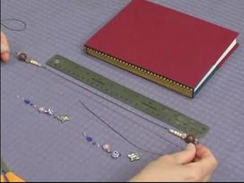 How to Make Unique Bookmarks : How to Make a Beaded Bookmark - 동영상