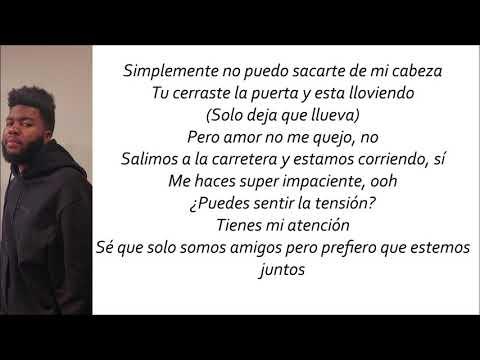 Khalid, John Mayer - Outta My Head (Letra En Español)