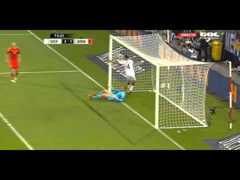 Benedikt Höwedes Goal vs Armenia ~ Germany - Armenia 3-1 Friendly 06 06 2014 HD.mp4