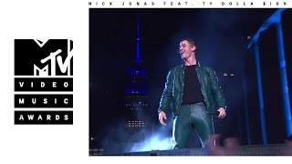 Nick Jonas - Bacon (Live from the 2016 MTV VMAs) ft. Ty Dolla $ign by : NickJonasVEVO