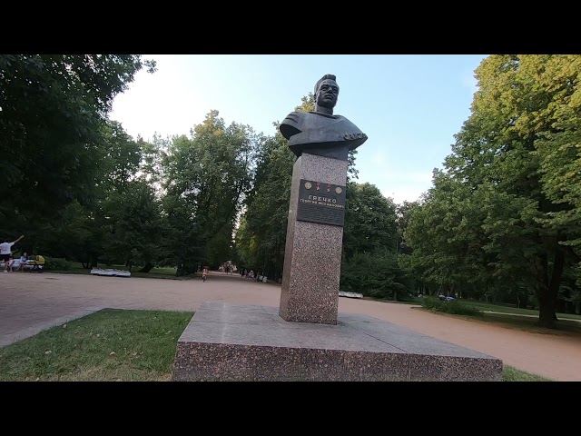 Прогулка по Питеру,  Санкт-Петербург, Московский парк Победы