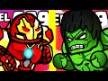 WHICH STRONGEST HIGHEST LEVEL HULK Vs. CYBORG MONSTER EVOLUTION? (9999+ ARMY STICKMAN) l Hero Wars