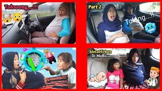 KUMPULAN VIDEO IBU HAMIL MELAHIRKAN DI MOBIL GO CAR