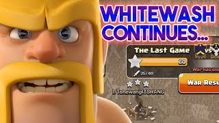 Whitewash Continues...  TH9 vs TH9 and TH8 vs TH8 3 Star War Strategies   Clash of Clans