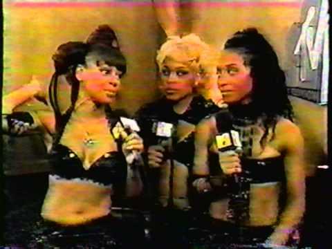 TLC Interviewed After MTV Video Music Awards 1999