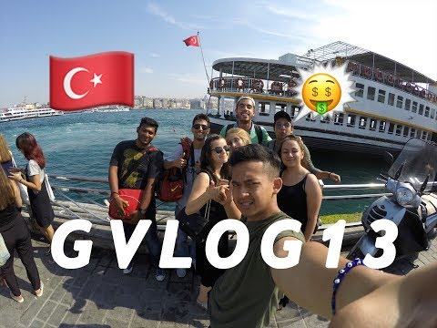 Balat, Vialand and bosphorus turkey Istanbul : #GVLOG13 Delightful Istanbul Summer School 2017