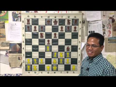 USCF Master Ruben vs. FIDE Master Conrado Diaz - Can You See The Big Sacrifice?