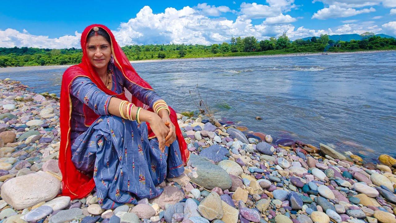 Hp-34 हर हर महादेव 🚩 हिमाचल में 🙏 Vyas River || kalinath kaleshwar mahadev Shubh Journey