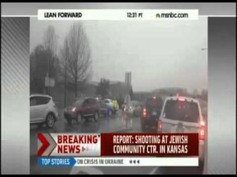 BREAKING  Multiple Shootings at Jewish Community Center, Overland Park, Kansas   YouTube