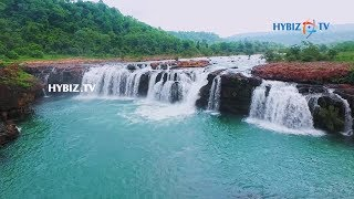 Bogatha Waterfalls Telangana || Aerial View